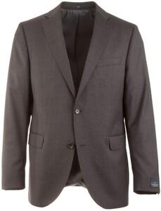 EDUARD DRESSLER Edson Fine Check Jacket Anthracite Grey