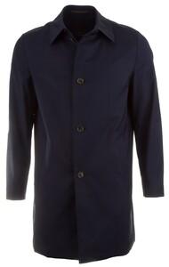 EDUARD DRESSLER Flavio Rainsystem Coat Coat Navy