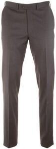 EDUARD DRESSLER Jeff Fine Check Pants Anthracite Grey