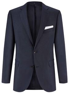 EDUARD DRESSLER Modern Fit Faux Uni Jacket Midnight Blue