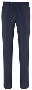 EDUARD DRESSLER Modern Fit Luxury Basic Pantalon Navy