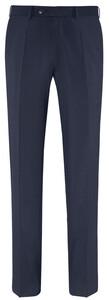 EDUARD DRESSLER Modern Fit Luxury Basic Trouser Navy