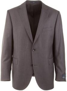 EDUARD DRESSLER Modern Fit S140 Mid Tone Jacket Anthracite Grey