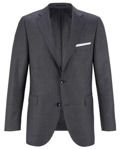 EDUARD DRESSLER Modern Fit S140 Mid Tone Jacket Mid Grey