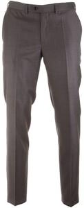 EDUARD DRESSLER Modern Fit S140 Mid Tone Trouser Anthracite Grey
