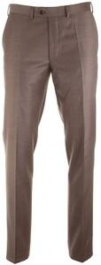 EDUARD DRESSLER Modern Fit S140 Mid Tone Trouser Brown