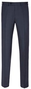 EDUARD DRESSLER Modern Fit S140 Mid Tone Trouser Mid Blue