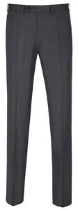 EDUARD DRESSLER Modern Fit S140 Mid Tone Trouser Mid Grey