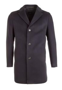 EDUARD DRESSLER Ruben Wool-Cashmere Coat Jas Navy