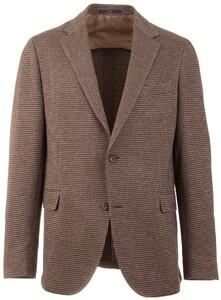 EDUARD DRESSLER Sento Jacket Jacket Brown Melange