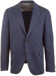 EDUARD DRESSLER Sentu Faux Uni Jacket Mid Blue