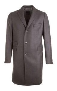 EDUARD DRESSLER Silvio Half Lined Luxury Coat Jas Antraciet