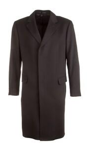 EDUARD DRESSLER Victor Wool-Cashmere Coat Jas Zwart