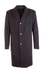 EDUARD DRESSLER Wool-Cashmere Coat Coat Navy