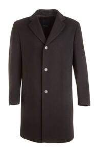 EDUARD DRESSLER Wool-Cashmere Coat Jas Zwart