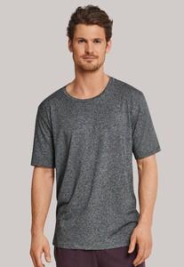 Schiesser Mix & Relax Modal T-Shirt Ronde Hals Donker Grijs