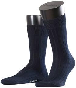Falke Milano Socks Navy