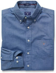 Gant The Oxford Shirt Fitted Navy