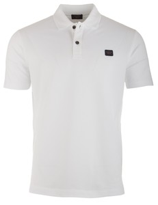 Paul & Shark Organic Cotton Basic Polo Wit