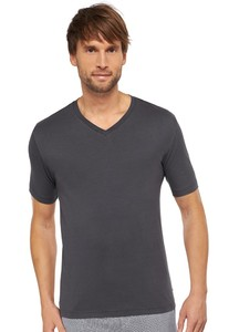 Schiesser Mix & Relax Cotton Modal T-Shirt Antraciet