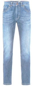 Gardeur SuperFlex Modern Fit Jeans Bleached Blue