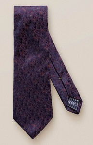 Eton Abstract Silk Tie Lilac