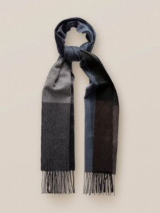 Eton Block Color Luxury Cashmere Sjaal Groen
