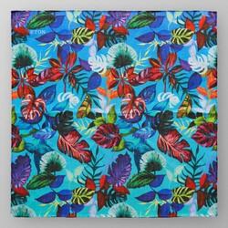 Eton Bold Coloured Jungle Pochet Blauw-Multi