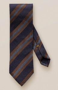 Eton Bold Stripe Tie Navy