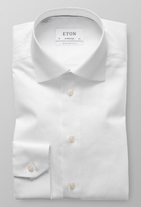 Eton Cutaway Mouwlengte 7 Signature Twill Shirt White