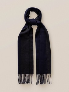 Eton Double Sided Luxury Cashmere Sjaal Blauw