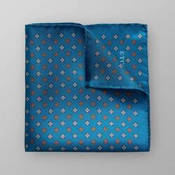 Eton Duo Pattern Pochet Turquoise