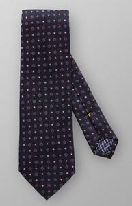Eton Fantasy Dots Silk Tie Navy