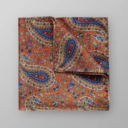 Eton Fantasy Pattern Paisley Pochet Donker Oranje