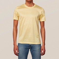 Eton Filo di Scozia Cotton T-Shirt T-Shirt Light Orange