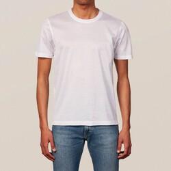 Eton Filo di Scozia Cotton T-Shirt T-Shirt Wit