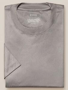 Eton Filo di Scozia Jersey T-Shirt Grijs