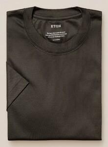Eton Filo di Scozia Jersey T-Shirt Groen
