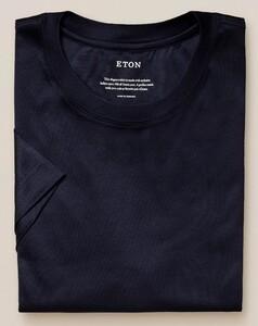 Eton Filo di Scozia Jersey T-Shirt Navy