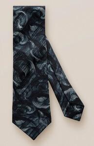 Eton Fine Fantasy Paisley Tie Black