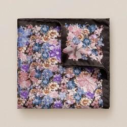 Eton Fine Floral Pochet Blue-Pink-Purple