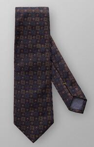 Eton Fine Pattern Tie Navy