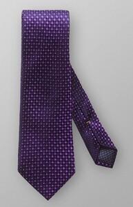 Eton Fine Pattern Tie Purple