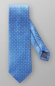 Eton Fine Woven Pattern Tie Blue