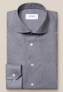 Eton Flanel Ultra Soft Overhemd Grijs
