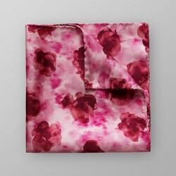 Eton Floral Fine Silk Pochet Roze-Rood