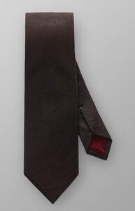 Eton Herringbone Tie Tie Brown
