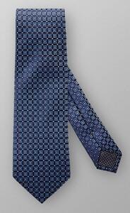 Eton Multi Fantasy Circle Pattern Tie Dark Evening Blue