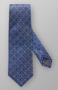 Eton Multi Pattern Tie Dark Evening Blue