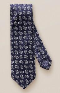 Eton Paisley Silk Das Midnight Blue